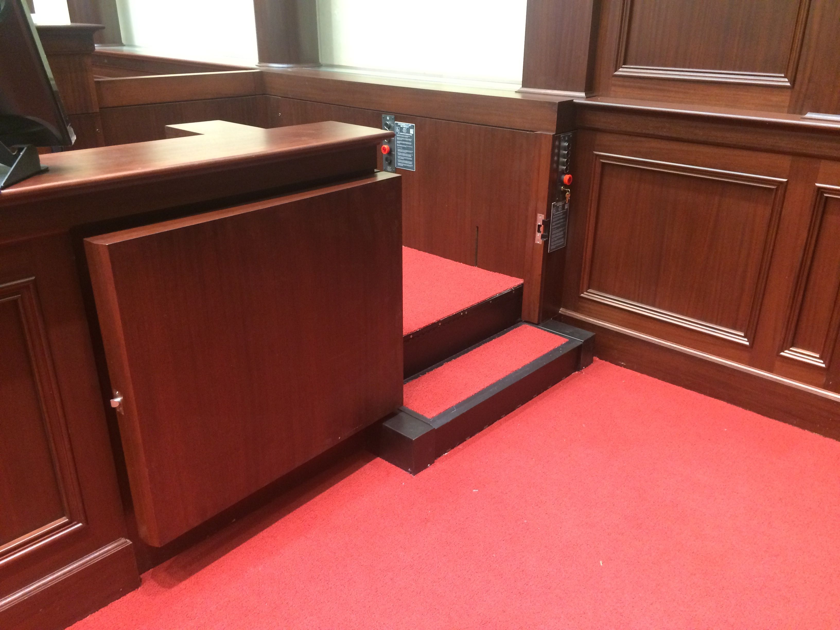 Courtroom Lifts