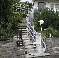 The Omega Inclined Platform Lift