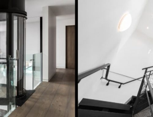 Panoramic Glass Elevator Adds Functionality and Style