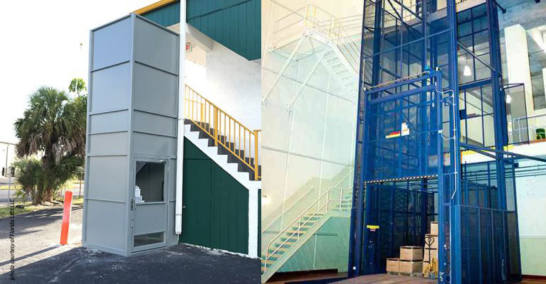 Types of Commercial Freight Lifts